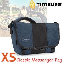 【美國 TIMBUK2】新款 Classic 經典款信差包(XS,9L).手提包.多功能信使包.書包.側背包.機車包.單肩斜背背包/116-1-4090 黑藍