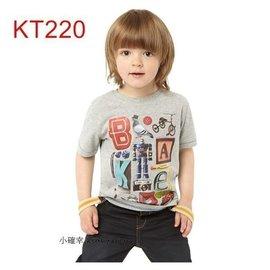 小確幸KT220 ~ ~ 灰色 古著素材圖T