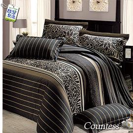 吳小姐訂做品─3210藍色─雙人加大6^~ 6.2尺床包兩用被組