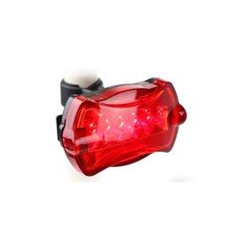 自行車/單車/腳踏車 5 LED蝴蝶型 車尾燈/警示燈/安全燈(紅)