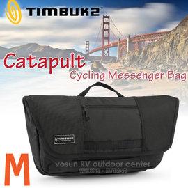 【美國 TIMBUK2】新款 Catapult 輕巧郵差包(M,5L).筆電背包.多功能手提袋.信使包.書包.側背包.機車包 /744-4-2001 黑