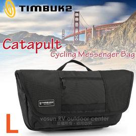 【美國 TIMBUK2】新款 Catapult 輕巧郵差包(L,7L).筆電背包.多功能手提袋.信使包.書包.側背包.機車包 /744-6-2001 黑