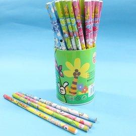 小竹笋鉛筆 塗頭圓型筆桿鉛筆 一筒約72支入^~促199^~^~5574