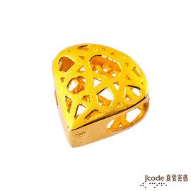 J'code真愛密碼~一克拉 黃金串珠