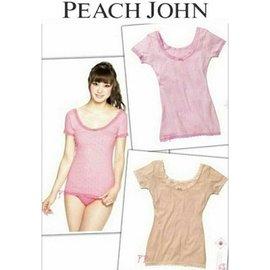 #10048 花心美日 #9825 D39膚色 正品 L Peach John短袖睡衣 居