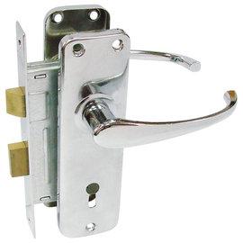 COR合作牌 把手鎖/水平鎖★二邊鎖孔都可插鑰匙 方便實用