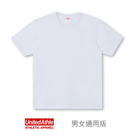 ~ 玩T空間~United Athle 6.2oz 水洗純棉短袖T~shirt ^(白色