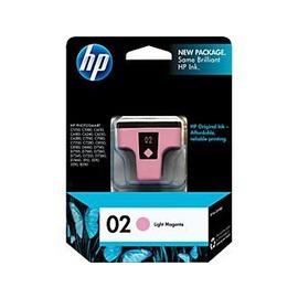 HP D7160 D7360 8230 C8775WA ^(No.02^)淡洋紅色墨水匣