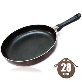 探險家戶外用品㊣AD-028 Magic Handle 28cm可摺疊把手鑽石鍋 鋁合金平底鍋平底煎鍋不沾鍋