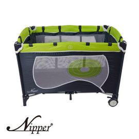Nipper雙層遊戲床(綠),贈:黃色小鴨隨手包濕巾*1