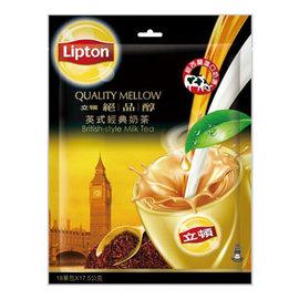 立頓奶茶粉~絕品醇英式 奶茶^(17.5gX18入 包^)