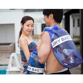 戶外小物 DRY BAG游泳沙灘 圓筒捲扣式飄流防水袋 收納包 ~花赤Run~