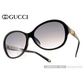GUCCI 太陽眼鏡 GG3684FS 4UAEU (時尚黑) 奢華時尚限量竹節鏡臂款 墨鏡 # 金橘眼鏡