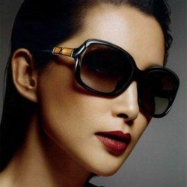 GUCCI 太陽眼鏡 GG3685FS 6UBEU (時尚黑) 李冰冰代言款限量竹節鏡臂 墨鏡 # 金橘眼鏡