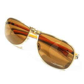 『凹凸眼鏡』德國 CEO.V  SUN系列CX808GDT2-33--偏光片(Polarized)折疊式墨鏡系列  ~ 6期零利率
