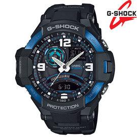 GA~1000~2BDR CASIO卡西歐G~SHOCK GA~1000~2B 羅盤飛行錶