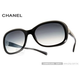 CHANEL 太陽眼鏡 CN5286 C501S6 ^(黑^) 奢華 氣質典雅女款 墨鏡