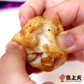 百變料理~食上天~杏鮑菇花枝丸^(9~10顆 300g±5^% 包 熟食^)