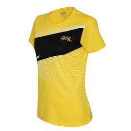 RSL_2014斜板透氣圓領排汗衣 黃色女版