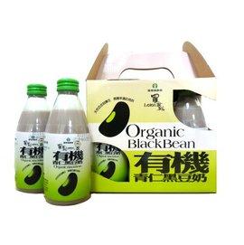 羅董有機青仁黑豆奶^~以2箱為1件 ^(每箱24瓶入,每瓶245㏄)
