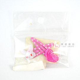 東櫻 ~ 寶石寵物 Jewelpet 粉心髮夾組 JL 寶石 動物 49016103336