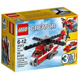 ~LEGO樂高~紅雷直昇機^(L31013^)