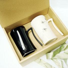 鶯歌集瓷│陶瓷博物館極選~斑斕蝶影變色寧靜杯~對杯~隨附精美禮袋~