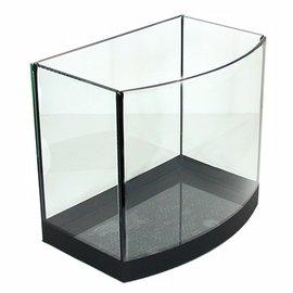 ~ ~海灣型休閒風高透析黑邊空缸(6吋)魚缸