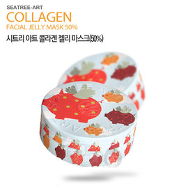 韓國 Seatree 50^%膠原蛋白果凍面膜^(100g^)~美麗販售機~