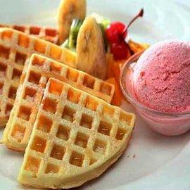 【金山】湯語雙泉溫泉會館 - 法式鬆餅+大眾風呂單人券 (平假日適用)