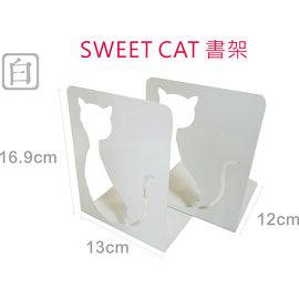 ~已 ~^~巨匠文具~~3913~~SWEET CAT書架^(白^) ~可 是否有庫存~