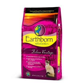 美國Earthborn原野優越貓糧~室內貓 雞肉 鮭魚 蔓越莓~14磅 14lb 6.36