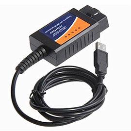 (帶線 ELM327 ) USB 迷你藍牙/藍芽 Bluetooth obd2 v1.5 故障/油耗 汽車檢測儀/診斷儀/測試儀 (附光碟) [CCO-00006]