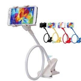 升級款 雙夾超輕手機懶人支架  /床頭手機夾/床頭夾/懶人/雙夾頭/手機支架/蛇管支架/Samsung NOTE 3/HTC M8/SONY Z2/ASUS Zenfon5/iPhone