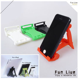 【winshop】A2191 賽車造型手機平板支架/手機支撐架/折疊式手機座/多功能手機架/平板電腦/ipad iphone