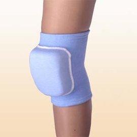 棉質針織排球足球加墊護膝^(海綿墊4公分^) 護套 護具^#315