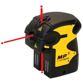 CST/berger MP3 點式雷射水平儀★垂直對點及水平對點★防撞擊及防潑密封外殼