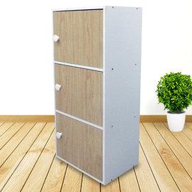 ~ 屋~白楓三門櫃SH~003MP 免  製 櫥櫃 辦公桌椅 茶几 沙發 系統傢俱 DIY
