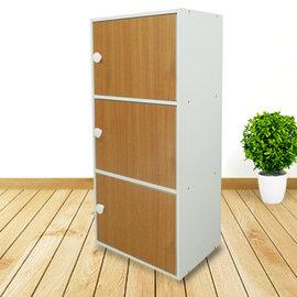 ~ 屋~櫸木三門櫃SH~003BE 免  製 櫥櫃 辦公桌椅 茶几 沙發 系統傢俱 DIY
