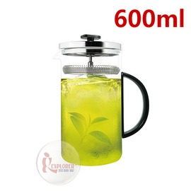 探險家戶外用品㊣DR-TEA-SR60 Driver冷泡茶壺-600ml 泡茶壺 耐熱玻璃壺 玻璃冷泡壺 沖茶器 (德國玻璃 品質保證 )