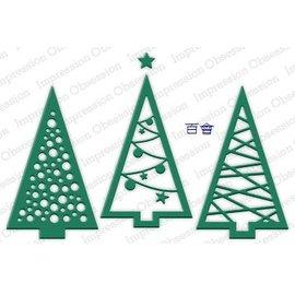 IO 花樣聖誕樹三件組