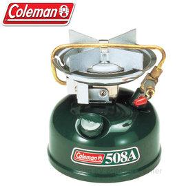 【美國 Coleman】508A去漬油單口氣化爐.經典款汽化爐.單口爐.高山爐/最高火力約2125kcal/h/CM-0508JM