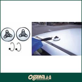 探險家戶外用品㊣3199 076 日本OGAWA天幕帳吸盤耐重12公斤2入 客廳帳車邊帳吸盤掛勾