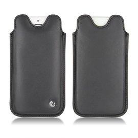 NOREVE iPhone5 iPhone5S iPhone5C iphone 5S 5C 直立式 手機袋 保護袋 真皮 皮革 手工 訂製 客製化 腰掛 法國頂級手機皮套 專賣店 推薦