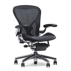 ~瘋椅世界~Herman Miller Aeron Chair 鍍鉻版 全 人體工學椅 C