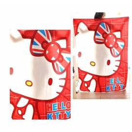 May shop 英倫風 hello kitty 刷毛毯子
