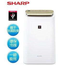 SHARP 夏普 10L 智慧型自動除菌離子HEPA除菌除濕機 DW-E10FT **免運費**