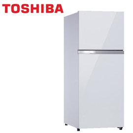 ~e~man~TOSHIBA東芝 359L雙門變頻玻璃鏡面冰箱^(GR~TG41TDZ^)