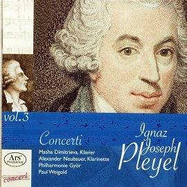 ARS38812 浦雷爾鋼琴單簧管協奏曲 Ignaz Pleyer Concerto fu