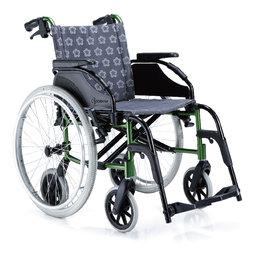 ~COMFORT~康而富 輔具 CT~6000 六輪 鋁合金輪椅 LOGO布 居家舒適椅